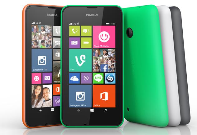 Lumia 530: самый доступный смартфон в линейке Lumia