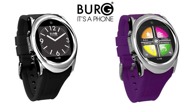 Burg 12: умные часы со слотом для SIM-карты