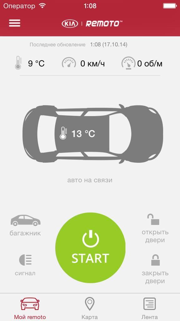Remoto предлагает действующий сервис удаленного управления автомобилем