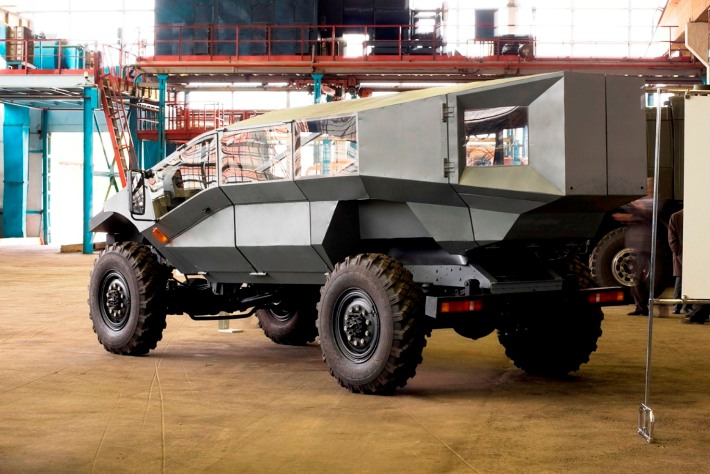Концепт новой бронемашины для российской армии
