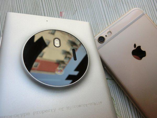 iPhone 6 сравнили с загадочным суперкамерофоном Lumia 1030
