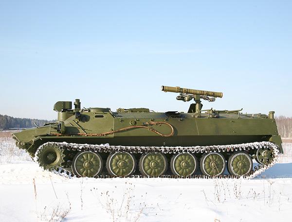 """Управляемая ракета """"Атака"""" пробивает броню любого танка"""