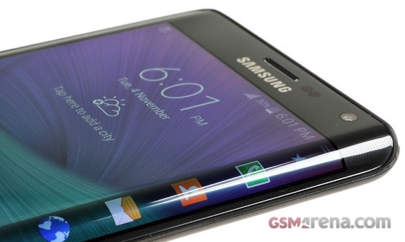 Samsung Galaxy S6 получит изогнутый дисплей?