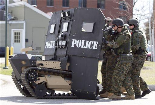 Мини-танк для американского спецназа - видео