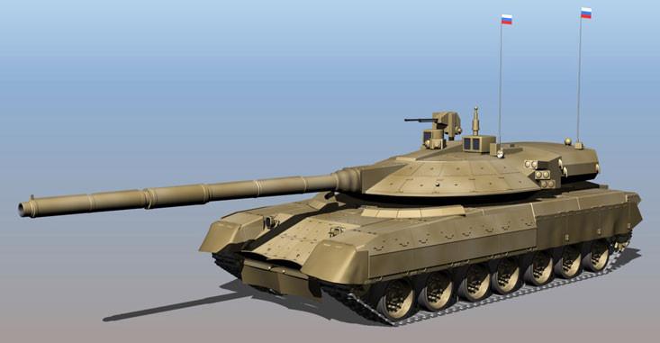 Один из прототипов нового танка