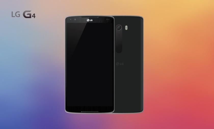 На изображении дизайнерский концепт на тему LG G4
