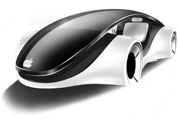 Один из дизайнерских концептов на тему автомобиля Apple