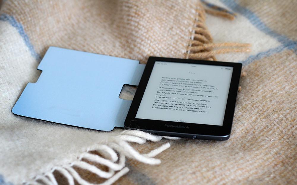 Обзор электронной книги PocketBook Sense в обложке Kenzo