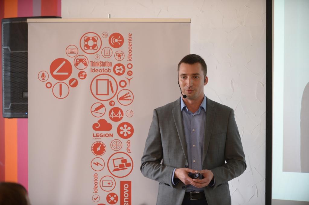 Тарас Джамалов, генеральный директор Lenovo Ukraine
