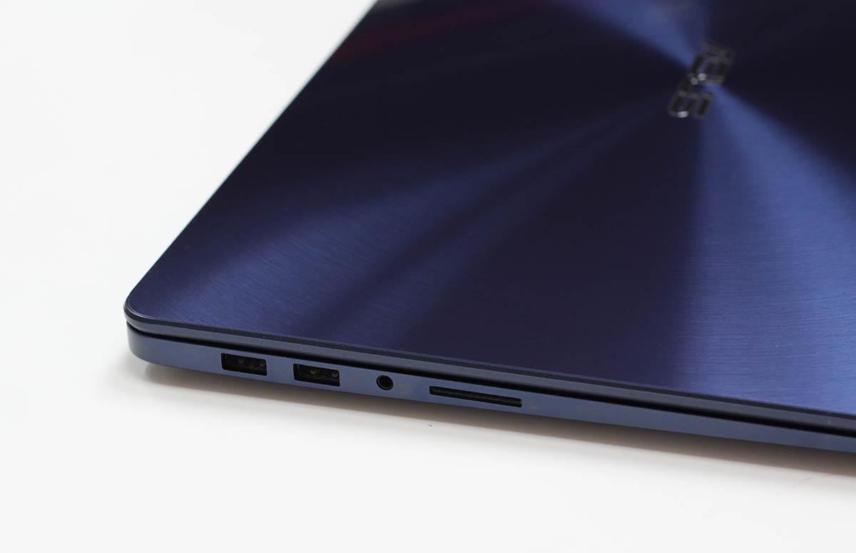 ASUS ZenBook UX530 - разъемы
