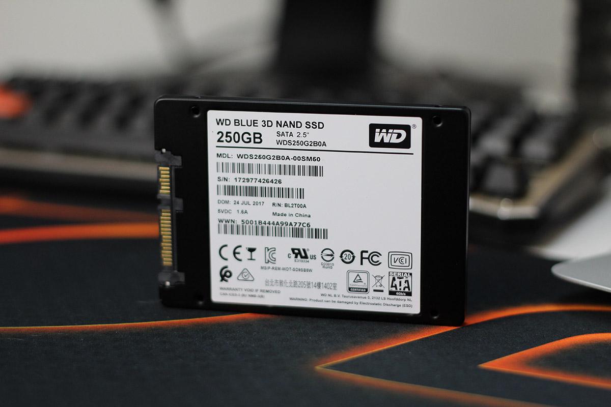 WD SSD Blue 3D NAND