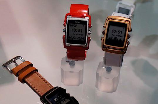 Умные часы Meta от дизайнера телефонов Vertu