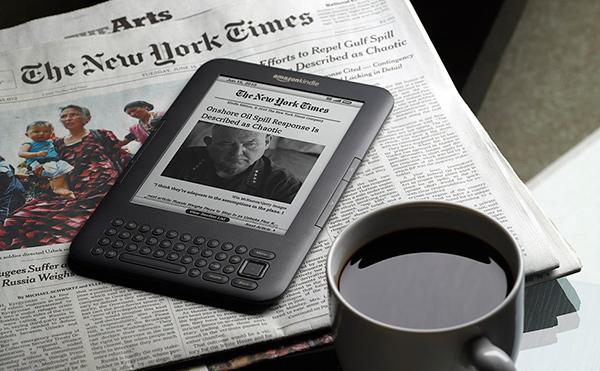 Букридеры Amazon Kindle можно купить в торговых автоматах
