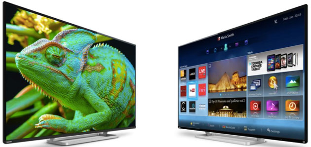 Toshiba обновляет линейку LED HDTV-телевизоров