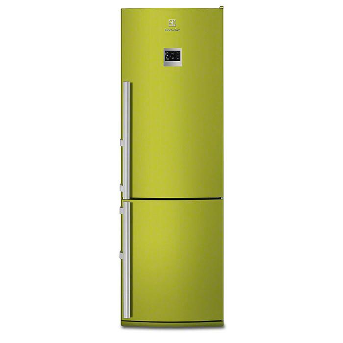 Цветные холодильники Electrolux. Зеленые холодильники