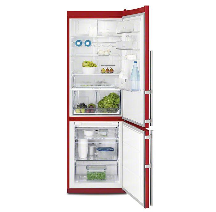 Цветные холодильники Electrolux. Красные холодильники