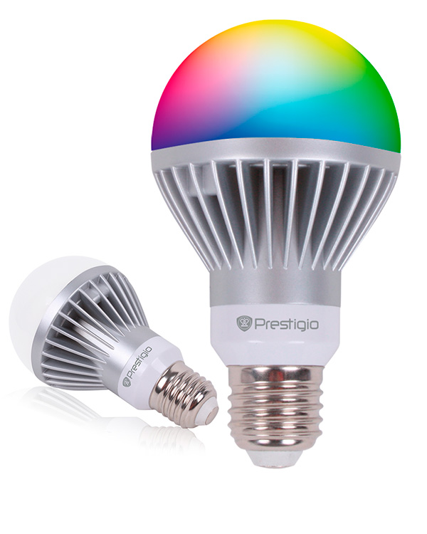 """Prestigio представила """"умные"""" светодиодные лампы Smart LED Light"""