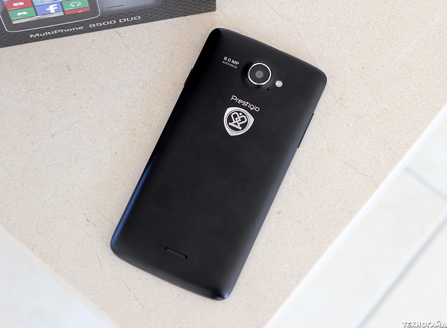 Prestigio MultiPhone 8500 DUO на Windows Phone 8.1