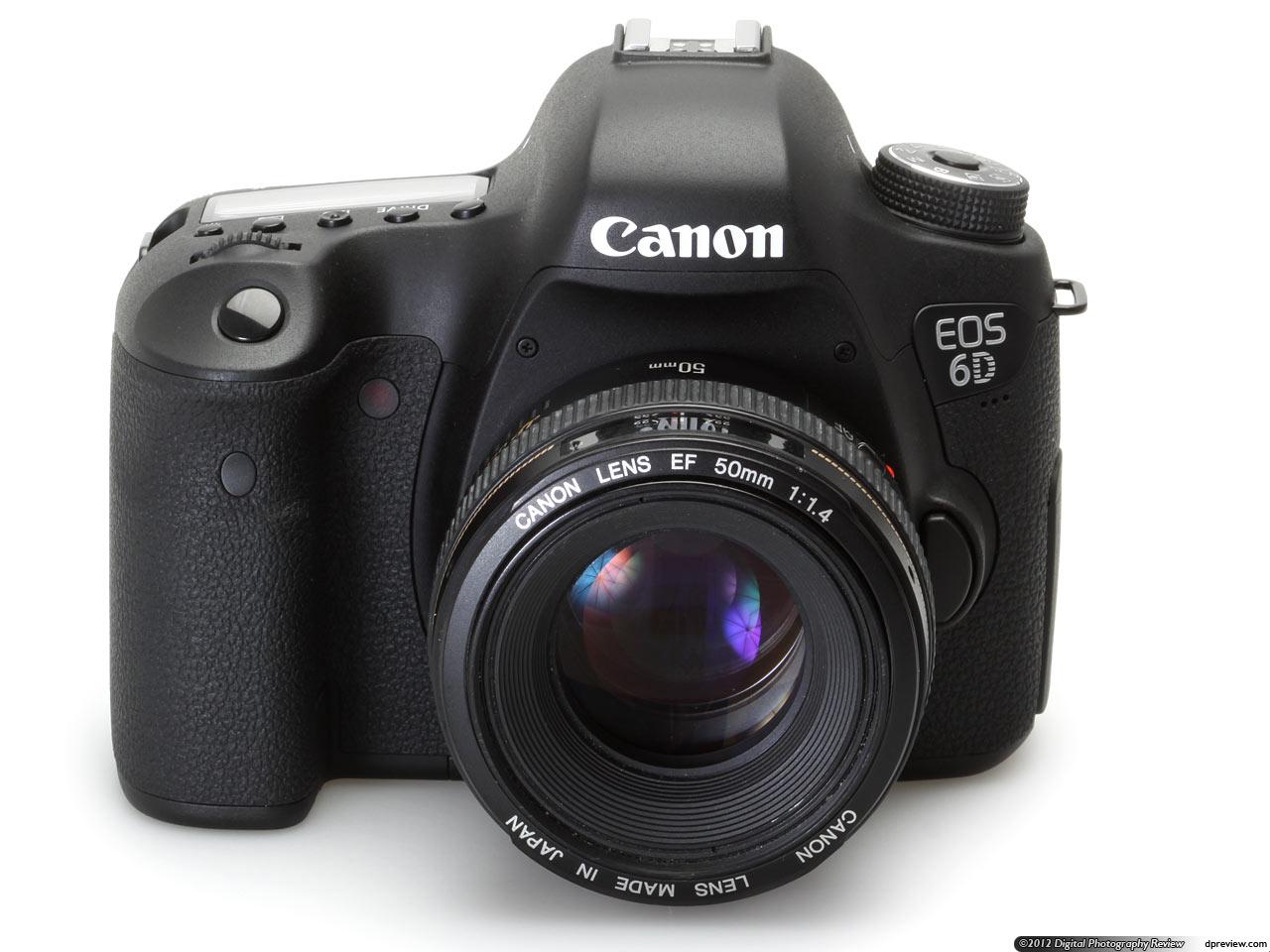 Зеркалка-передовик EOS 6D от инноватора в области цифрового изображения Canon