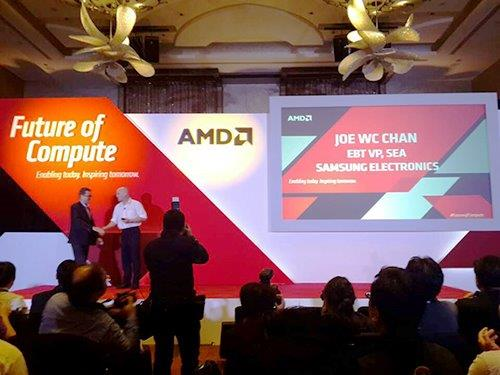 В UHD-мониторах Samsung появится технология AMD FreeSync