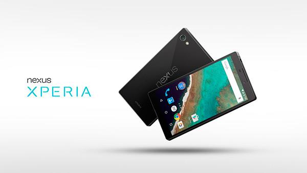 Красивый концепт очередного Nexus в стиле Sony Xperia