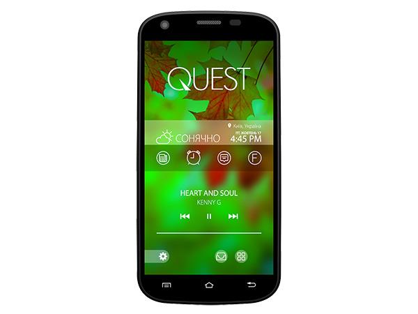 QUMO Quest 506: недорогой смартфон с приятным дизайном