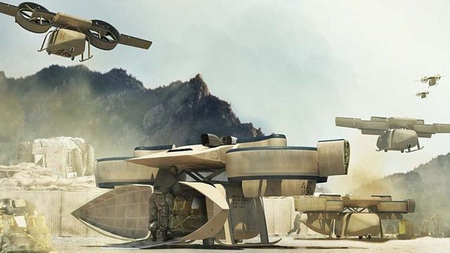 Для армии США создадут летающих трансформеров