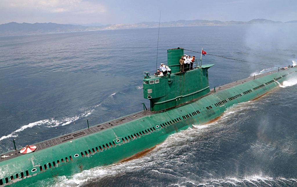Северная Корея разрабатывает ядерные ракеты подводного базирования