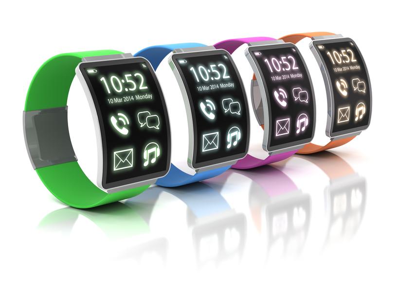 Концепт на тему умных часов Swatch
