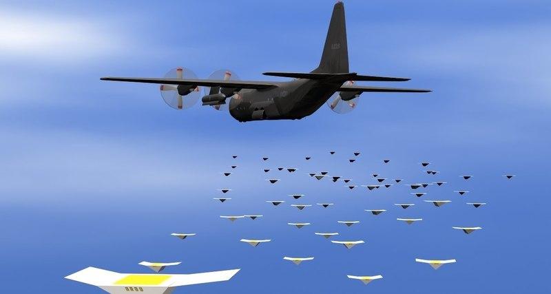 боевые дроны Thunderdrone