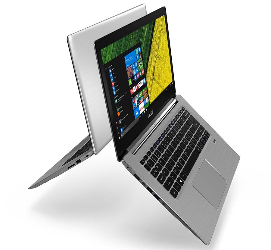 Обновленные ноутбуки Acer Swift 3