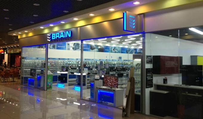 Brain признан лучшей сетью компьютерных магазинов в Украине