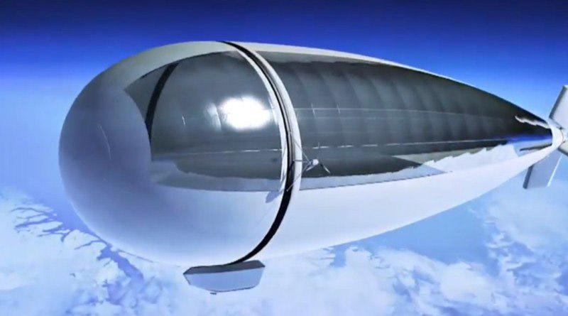 Японцы создают дирижабль для космических полетов