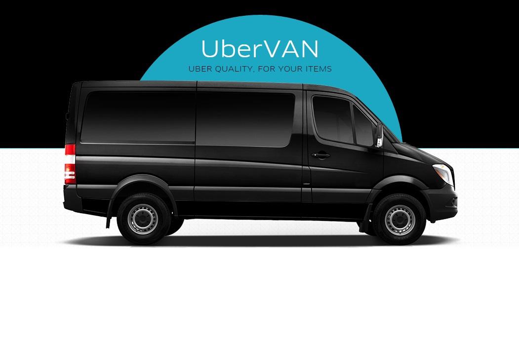 Новый сервис uberVAN запущен в Киеве