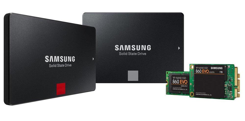 Samsung 860 PRO и 860 EVO с поддержкой V-NAND