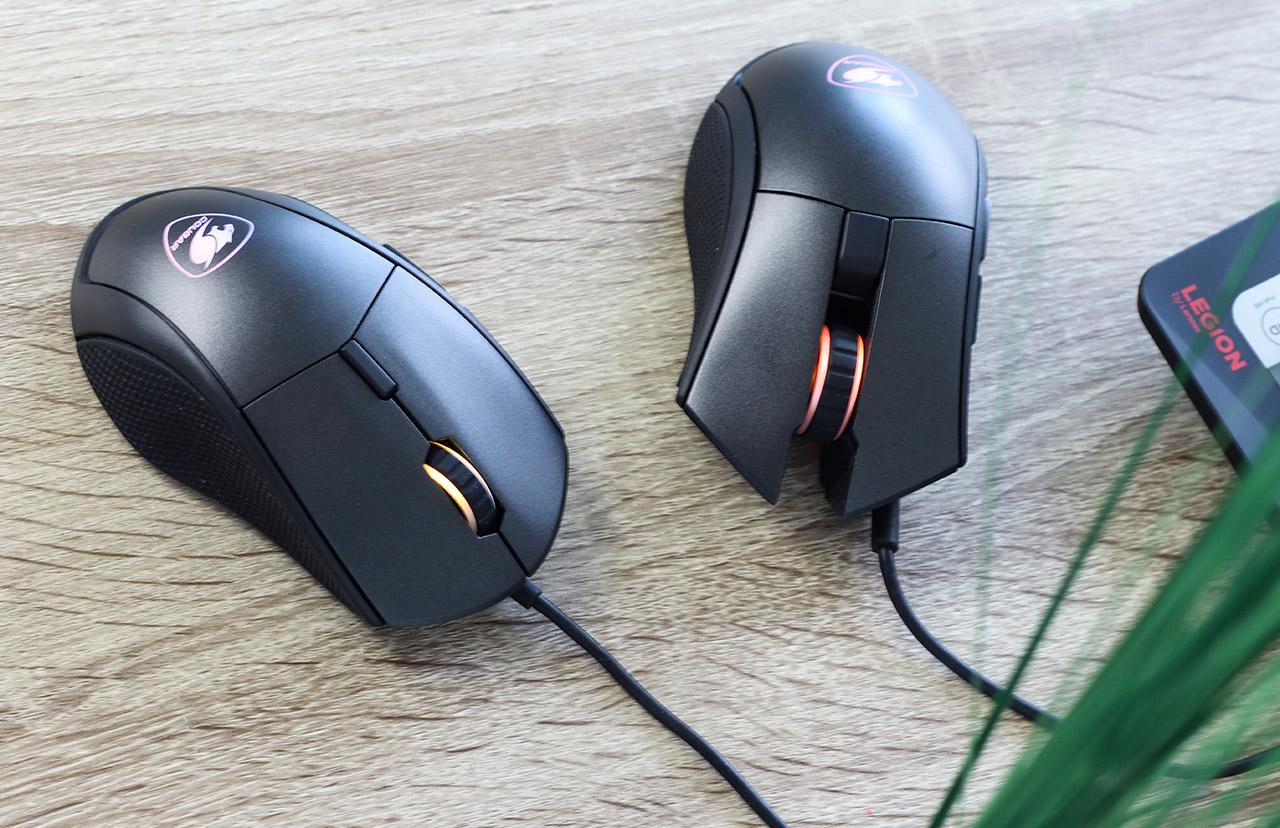 Мышки-близнецы: COUGAR Minos X5 и Revenger S