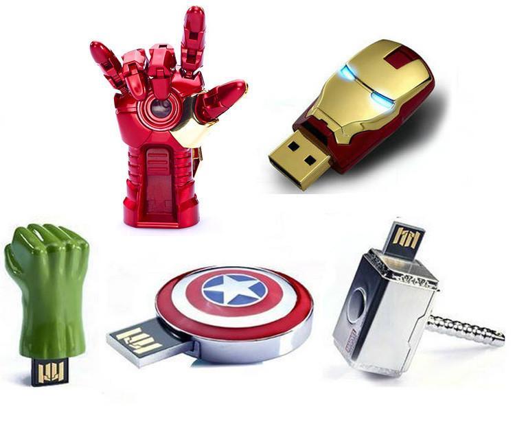 Флешка в виде супергероя Marvel