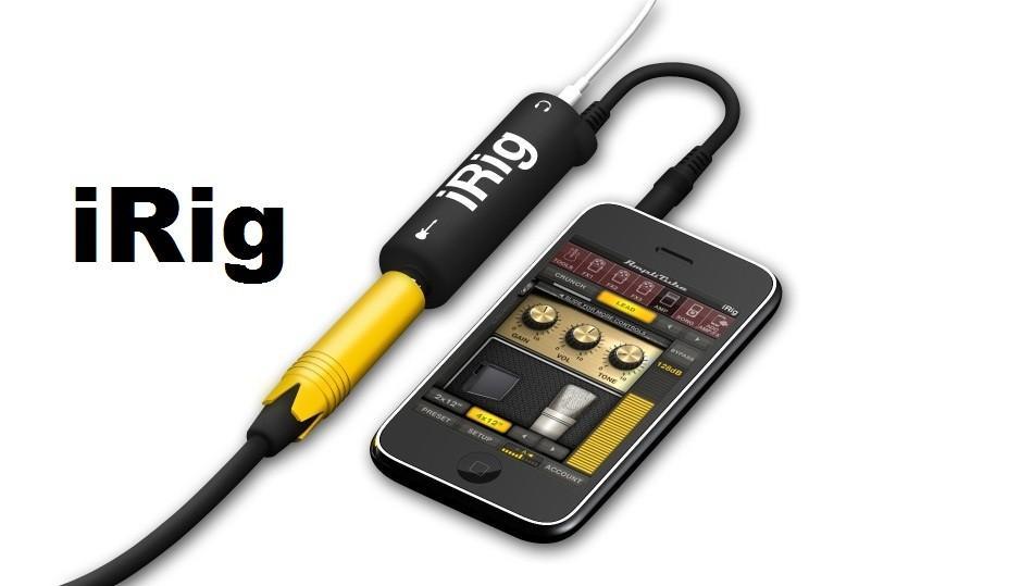 Гитарный адаптер для смартфона