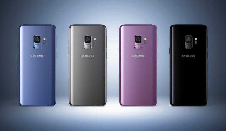 Samsung Galaxy S9 и Galaxy S9+: цветовые решения