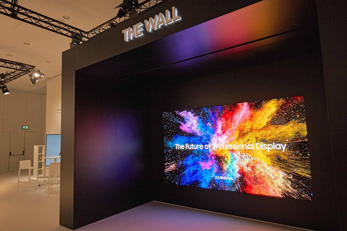 Samsung представила модульный MicroLED-дисплей и улучшенный экран 3D Cinema LED для кинотеатров