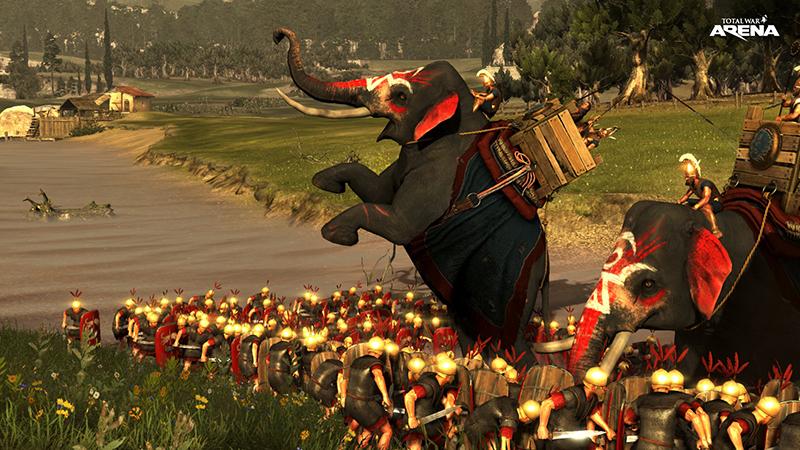Открытая бета Total War: ARENA стартует 22 февраля