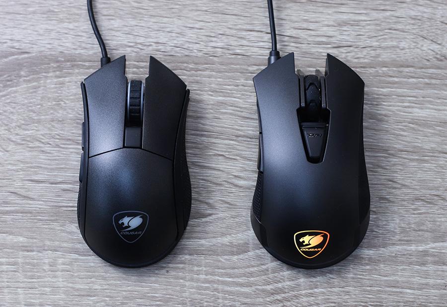 COUGAR Revenger (справа) и Revenger S (слева)