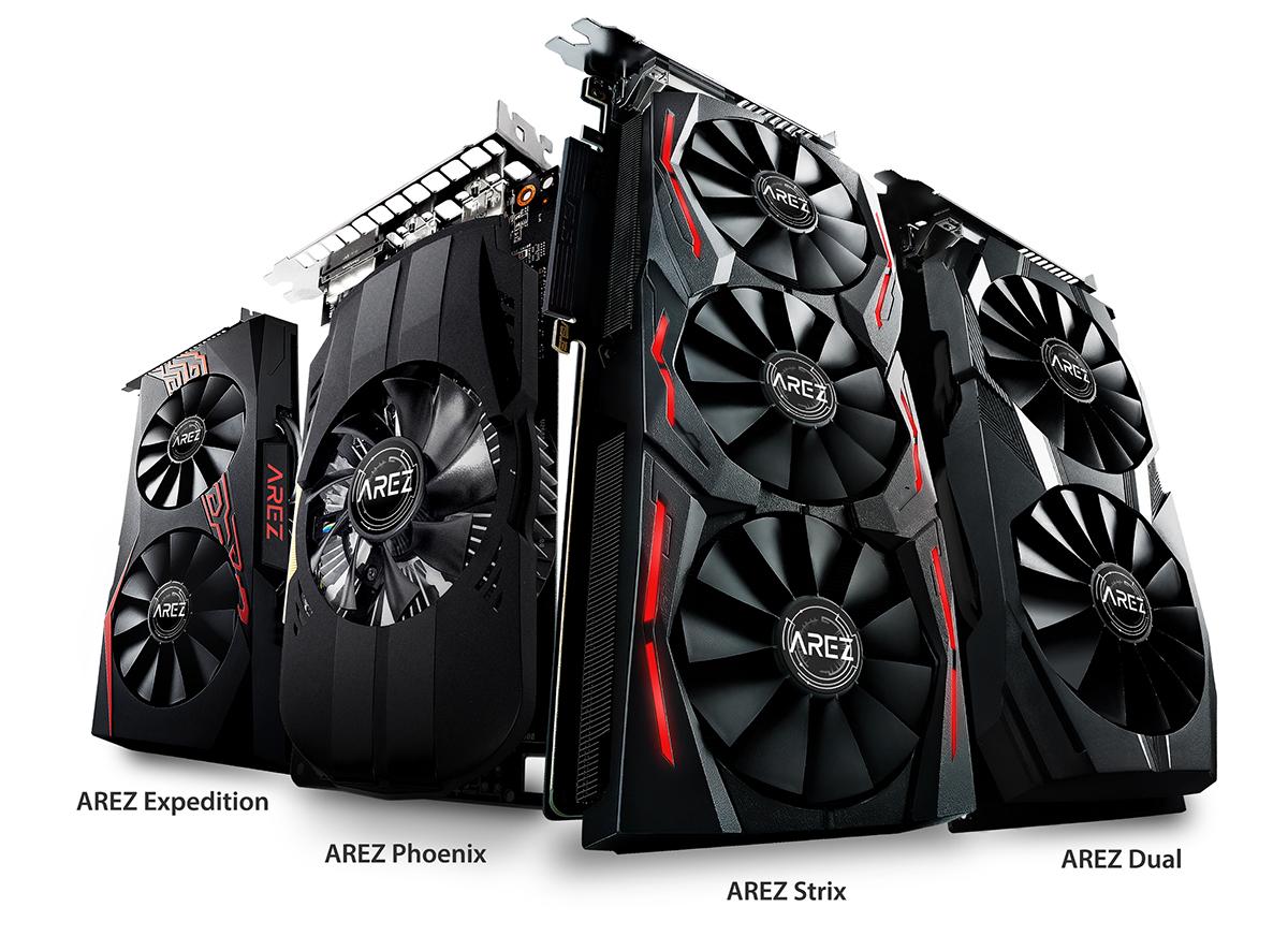 ASUS представляет бренд видеокарт AREZ на базе графических процессоров AMD Radeon RX