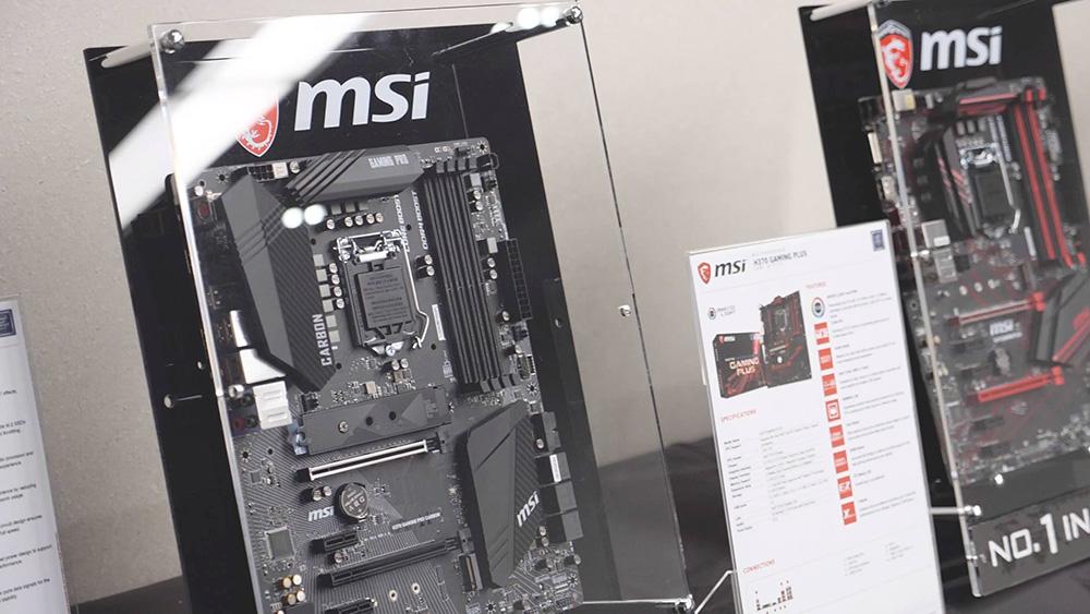MSI анонсировала в Украине материнские платы на чипсетах Intel H370, B360 и H310