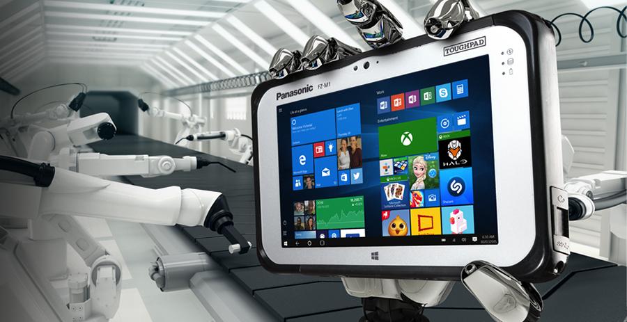 Panasonic FZ-M1: защищенный планшет с 3D-камерой Intel RealSense