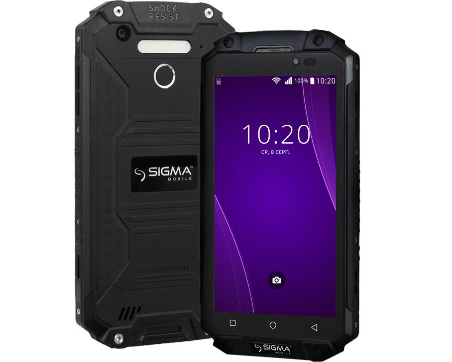 Sigma начинает продажи защищенного смартфона X-treme PQ39 с батареей на 9000 мАч