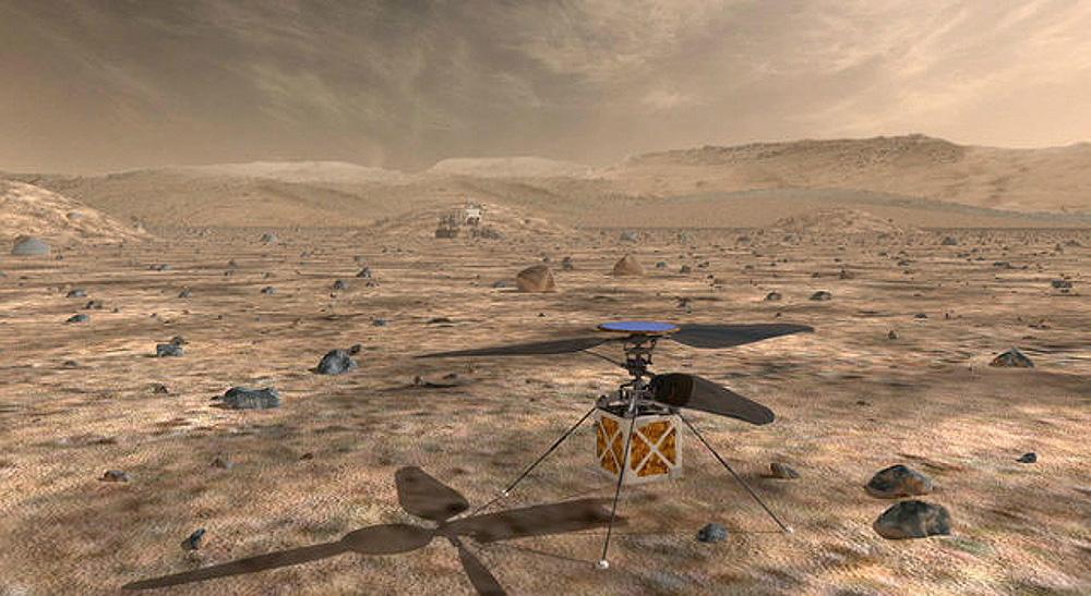 Новый марсоход Mars 2020 и компактный дрон Mars Helicopter отправятся к Красной планете