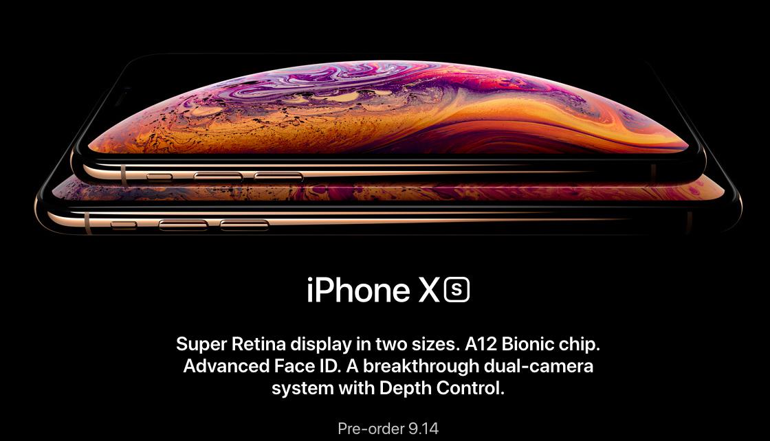 Представлены iPhone Xs и Xs Max: цены, фото и характеристики