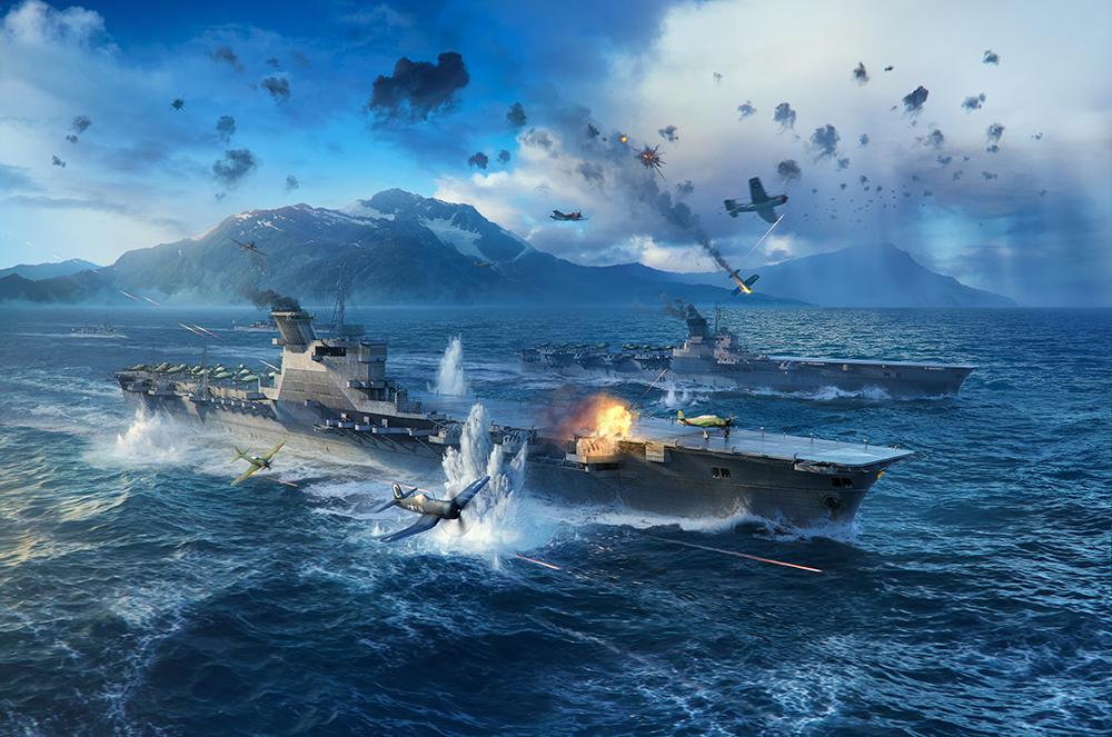 World of Warships представила улучшенный класс авианосцев