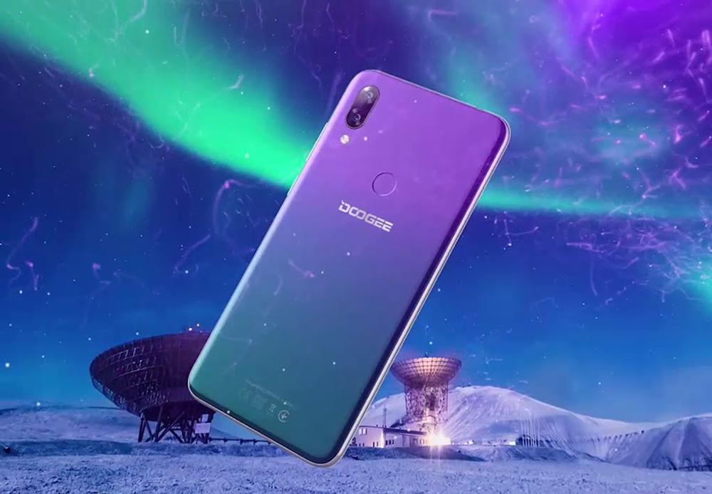 В Украине стартуют продажи смартфона DOOGEE Y7
